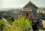 Barracks on the Great Wall at Jinshanling in Hebei province