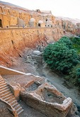 Bezeklik Thousand Buddha Caves near Turpan in Xinjiang along the Silk Road