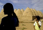 Beehive houses in Biblical city of Harran in southeast Turkey
