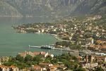 Port of Kotor on the Bay of Kotor, Adriatic coast of Montenegro