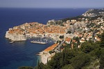 Dubrovnik Old Town, historic walled city on Adriatic