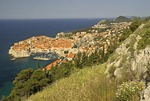 Dubrovnik, historic walled city on Adriatic