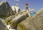 Granite Boulders at The Baths on Virgin Gorda