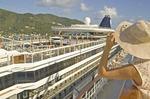 Cruise ships docked at Tortola
