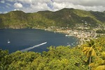 St Lucia's Soufriere