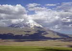 Mt. Ararat, snow-capped dormant volcano and site of Noah Biblical story