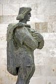 Statue on Zadar's Old Town street