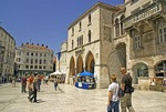 Split, plaza in old city