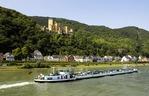 Stolzenfels Castle on Rhine River near Koblenz