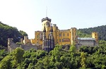 Stolzenfels Castle on Rhine River near Koblenz