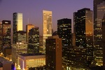 Houston's downtown skyline