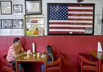 Houston's East End neighborhood restaurant Villa Arcos Tacos, Hispanic customers