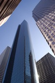 Houston, downtown high rise office buildings