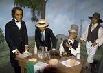 San Antonio's Buckhorn Saloon & Museum, Hall of Texas History, Stephen F. Austin issuing land grants
