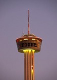 San Antonio's Tower of the Americas at night
