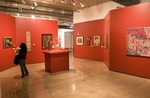 San Antonio's Museo Alameda del Smithsonian features Latin American art, first floor gallery