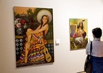 San Antonio's Museo Alameda del Smithsonian features Latin American art, including gallery of pin-up girl paintings by Mexico City artists