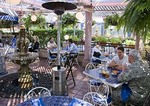 San Antonio's La Fogata Mexican Restaurant features outdoor dining