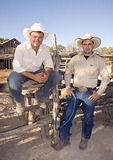 Texas Hill Country, Dixie Dude Ranch, cowboys Justin Wilkerson and J.D. Owen