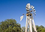Texas Hill Country, Dixie Dude Ranch, windmill for pumping water for livestock
