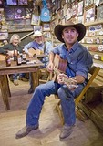 Texas Hill Country, Luckenbach General Store backroom tavern musician jam session
