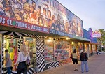 Austin's South Congress Avenue (SoCo) features quirky and fun local shops, boutiques, and entertainment