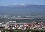 Erzurum, provincial capital on high plateau surrounded by mountains in Eastern Turkey