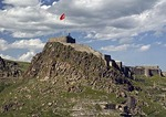 Kars Kalesi (Castle or Kale)), Armenian fortress and later Ottoman citadel, on hilltop overlooking city of Kars