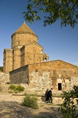 Lake Van's 10th century Armenian Church of the Holy Cross on Akdamar Island
