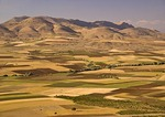 Southeastern Turkey landscape in Batman province, Upper Mesopotamia