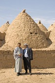 Harran mud brick beehive adobe houses
