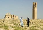 Harran ruin of ancient Ulu Camii, University of Harran, on Harran plain