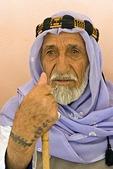 Arab Turk in Sanliurfa (Urfa) with tattoo on hand