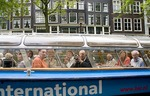 Amsterdam canal sightseeing cruise on Holland International cruise boat