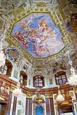 Vienna's Belvedere Palace Marble Room, Baroque architecture, built by Prince Eugene of Savoy