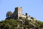 Castle Liebenstein overlooking middle Rhine River