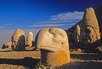 Nemrut Dagi (Mount Nimrod), heads of stone gods on west terrace