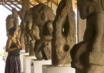Granada's Museo El Convento de San Francisco pre-Hispanic sculpture