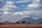 San Cristobal active cone-shaped smoking volcano is highest in Nicaragua