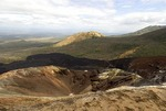 Cerro Negro Volcano lower crater