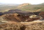 Cerro Negro Volcano crater