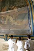 Leon Cathedral restoration work