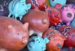 Leon pottery pigs, traditional handicraft