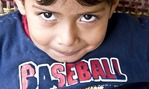 Nicaraguan boy in Masaya with big eyes