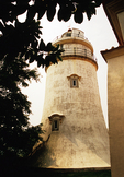 Macau's Guia Lighthouse built in 1864-5 was first in western style on China coast or in east Asia
