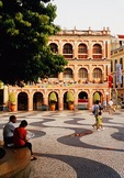 Macau's Senado Square in early morning