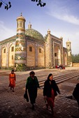 Kashgar's Abakh Hoja Mosque (Xiangfei Mu), tomb or mausoleum of king of the Bai Shan sect