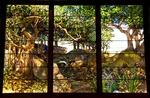 Houston Museum of Fine Arts collection, A Wooded Landscape in Three Panels by Louis Comfort Tiffany, c.1905