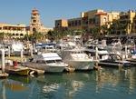 Cabo San Lucas marina in Baja California