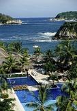 Huatulco's Tangolunda Bay from Sheraton Resort